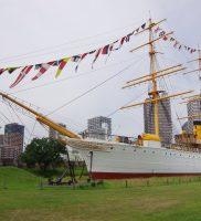 「明治丸」と「東京高等商船学校」(東京海洋大学)