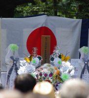 馬門山横須賀海軍墓地墓前祭