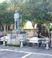 日本再建ノ三大恩人銅像(八王子・雲龍寺)
