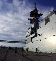 護衛艦「いずも」体験航海(令和元年)