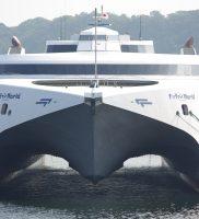 ナッチャンWorld(防衛省傭船・特設双胴高速輸送船)