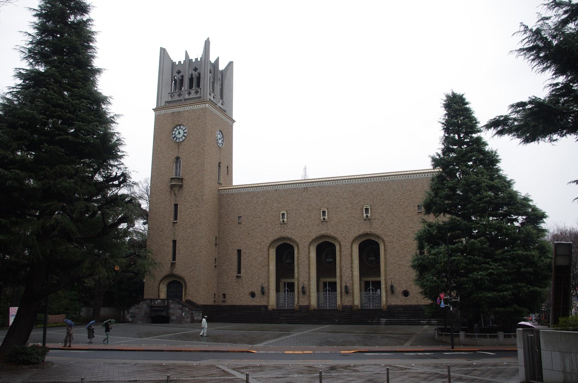 早稲田大学の近代建築