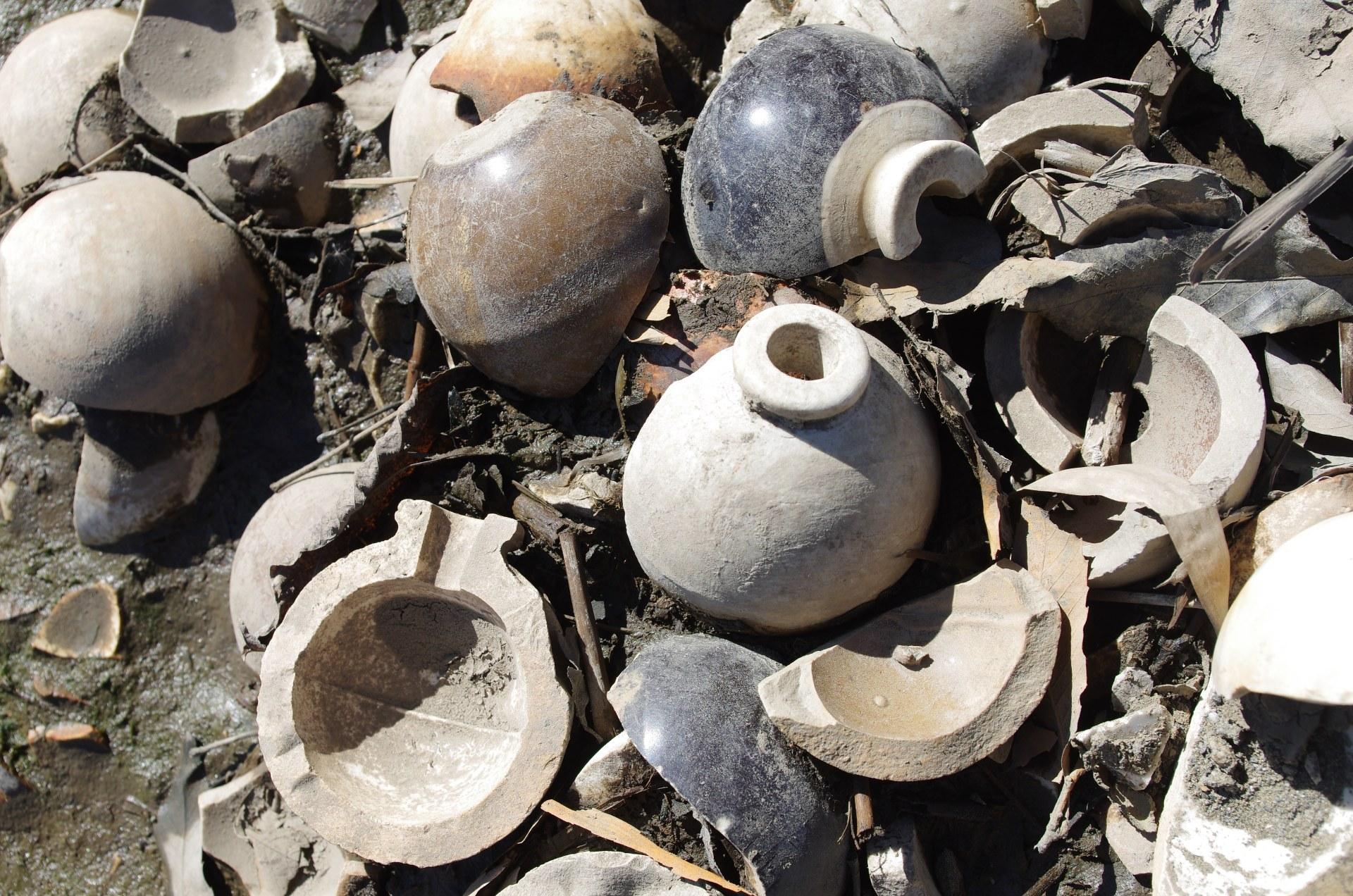浅野カーリット埼玉工場跡と四式陶製手榴弾